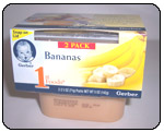 Gerber Banana Baby Food